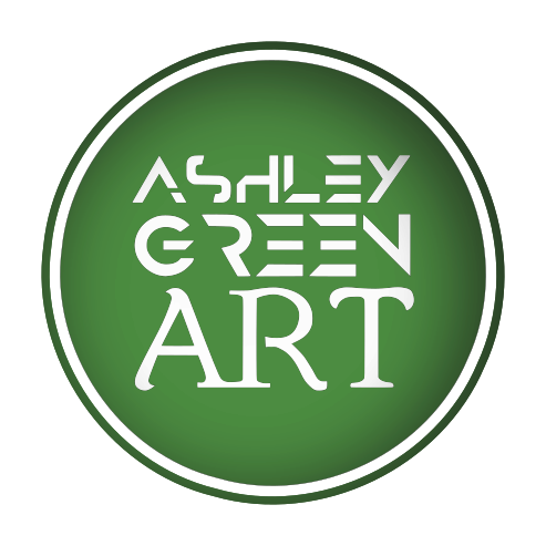 Ashley Green Art logo
