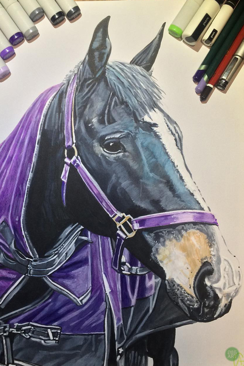 Horse by commission
